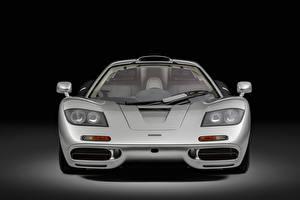 Обои Макларен Спереди Серебряный Металлик F1, Sports car, 1993 авто