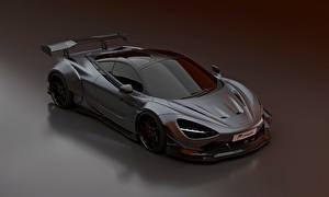 Картинка Макларен Серый Металлик Prior Design, 2020, 720S, widebody kit машины