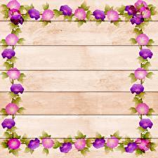 Фотографии Рисованные Доски Шаблон поздравительной открытки Цветы