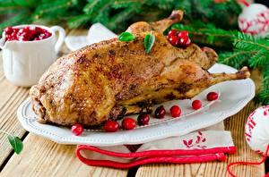Картинки Курица запеченная Новый год Еда