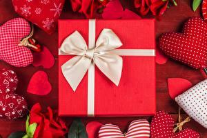 Картинки День всех влюблённых Подарков Бантик Серце
