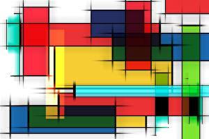 Обои для рабочего стола Векторная графика Текстура Разноцветные
