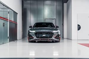Фотографии Ауди Спереди ABT 2020 Sportback RS7-R авто