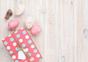 Картинка Пасха Доски Яйца Подарки Шаблон поздравительной открытки Фильмы