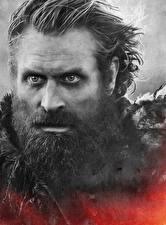 Обои Игра престолов (телесериал) Крупным планом Мужчина Лица Борода Tormund Giants Death кино