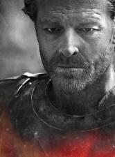 Фотографии Игра престолов (телесериал) Мужчина Лица Jorah Mormont Знаменитости