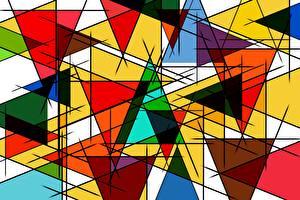Фотографии Геометрия Фигура Текстура Разноцветные