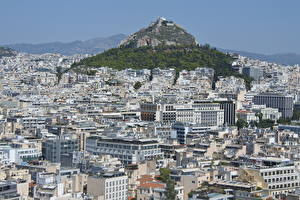 Картинки Греция Здания Athens