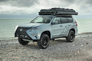 Фотография Лексус Стайлинг Серая 2020 GX Overland Concept авто