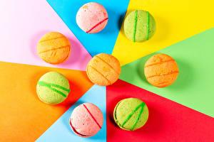 Картинки Макарон Разноцветные Еда