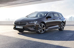 Обои Opel Коричневая Металлик 2020 Insignia Sports Tourer машина