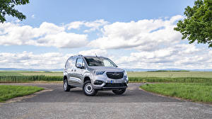 Фотографии Opel Серый Металлик Минивэн 2019-20 Combo Cargo 4×4