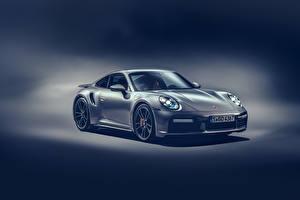Фотография Порше Серая 2020 911 Turbo S Worldwide авто