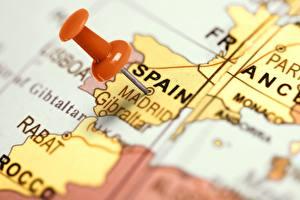 Фотография Испания Мадрид География Глобусом