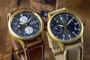 Картинка Часы Наручные часы Циферблат Двое Steinhart