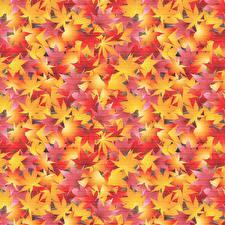 Картинки Осенние Лист Шаблон поздравительной открытки Клён