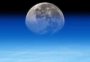 Фотографии Вблизи Луна Природа