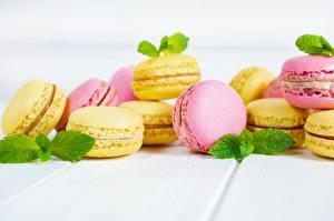 Картинки Печенье Макарон Продукты питания