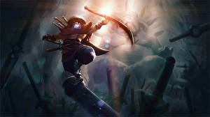 Картинка DOTA 2 Воины Джагернаут Меч Balance of the Bladekeeper компьютерная игра