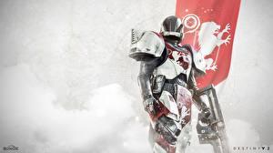 Картинки Destiny 2 Воители Доспехе Шлем Игры