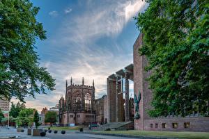Фото Англия Храм Церковь Собор Covenntry Cathedral