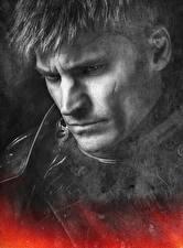 Фотография Игра престолов (телесериал) Крупным планом Мужчины Лицо Jaime Lannister