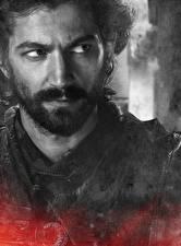 Картинки Игра престолов (телесериал) Мужчины Вблизи Лицо Борода Daario Naharis Фильмы