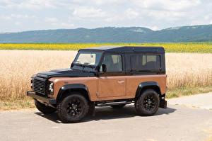 Картинки Land Rover Внедорожник 2015 Defender 90 Autobiography Worldwide авто