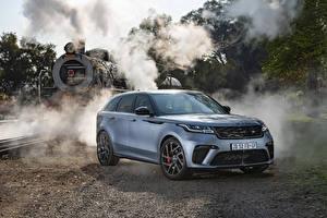 Картинка Land Rover Кроссовер Серый 2019-20 Velar SVAutobiography Dynamic Edition машины