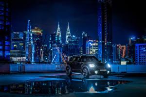 Обои Мини Черных Металлик 2020 Countryman S Blackheath машины