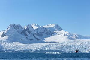 Фотография Гора Корабль Снега Antarctica