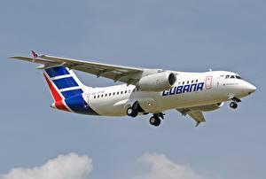 Фотография Самолеты Пассажирские Самолеты Летит An-158