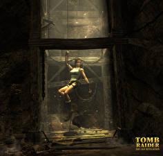 Фотографии Tomb Raider Anniversary Tomb Raider Лара Крофт компьютерная игра Девушки
