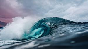 Картинки Волны Море Океан Вода
