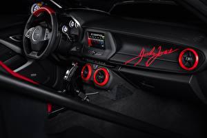 Фото Шевроле Салоны Интерьер Автомобильный руль Camaro, COPO, 2020, John Force Edition автомобиль