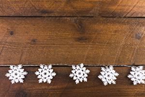 Фотографии Рождество Доски Снежинки Шаблон поздравительной открытки