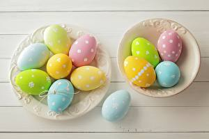 Картинки Пасха Яйцами Тарелка