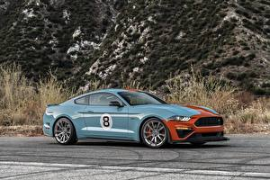 Картинка Ford Металлик Сбоку Mustang GT, Roush Performance, Stage 3 машина