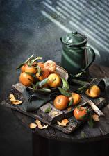 Картинки Мандарины Кувшины Пища