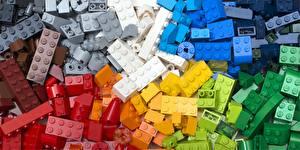 Обои Много Разноцветные LEGO, constructor
