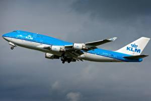 Фотография Самолеты Пассажирские Самолеты Боинг KLM 747-400M