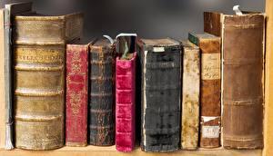 Картинка Старинные Книги Старые Библиотеке