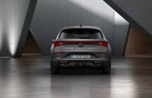 Фотография Сиат Серая Вид сзади Cupra, Leon, eHybrid, Worldwide, 2020 авто