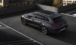 Фото Сиат Универсал Черные Металлик Leon ST, 2020 Автомобили