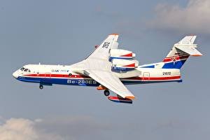 Фотографии Самолеты Летят Сбоку Be-200ES