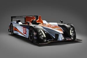 Обои для рабочего стола Астон мартин Серый фон AMR-One, LMP1, Sports prototype, 24 Hours of Le Mans Автомобили