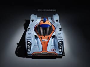 Картинка Астон мартин Сверху DBR1-2, LMP1, Sports prototype, 24 Hours of Le Mans Автомобили