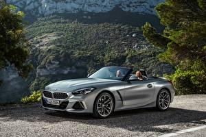 Картинка BMW BMW Z4 Родстер Серебряная Металлик Z4, M40i, Z4, 2019, G29 машины