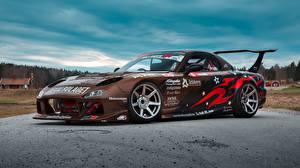 Фотографии Mazda Стайлинг Коричневый RX-7 автомобиль