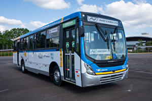 Картинки Мерседес бенц Автобус 2018-20 Neobus Mega Mercedes-Benz OF 1721 авто